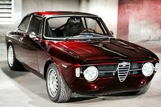 Alfa Romeo GT 1300 junior. Note the absence of excess chrome and odd lumps in the bodywork
