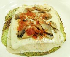 A la Paula: Pizza de brócoli y coliflor A la Paula