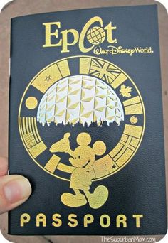 Epcot passport -- I wish I had known about this! It would have made Epcot so much more fun for my little guy.