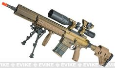 Elite Force / Umarex H&K G28 Airsoft AEG Designated Marksman Rifle by VFC - Dark Earth / Limited Edition Kit