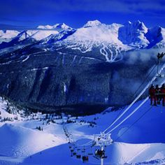 Whistler is a wonderful place to come down and visit in the winter season.