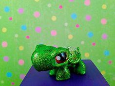 Littlest Pet Shop Turtle OOAK Custom Hand Painted Littlest Pet Shop LPS   eBay