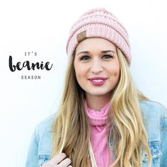 Beanie season is our favorite season! These CC beanies make the perfect little treat for yourself or a friend! Only $12.50. Available in pink, burgundy, light blue, mint, rust, and red! Order one from social shop by signing up at stylerevelsocial.com!