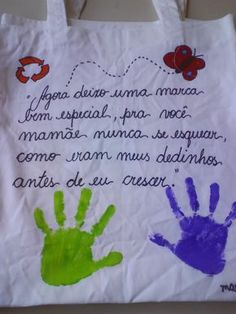 AMIGA DA EDUCAÇÃO.: SACOLINHAS PARA O DIA DAS MÃES.