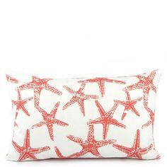 Wonders of the Sea Salmon Reversible Lumbar Pillow - Chloe & Olive
