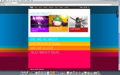 [color] sharp, youth, eye-catching, jquery, vertical browsing, section by color