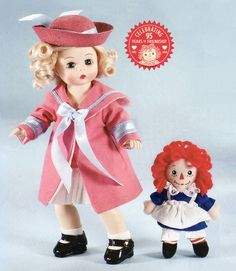 Marcella Loves Raggedy Ann 95th Birthday Doll by Madame Alexander