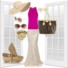 Summer Beauty, created by mintabean on Polyvore