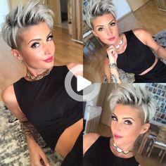 100. Funky Pixie Undercut Pixie cuts are the perfect way to showcase your spunky and adventurous personality. If you are bold enough, embrace an undercut topped off with high contrast spikes. This style requires some styling, so make sure you have your favorite hairspray on hand! So, these were your endless ideas of haircuts and … #simplehairstyles