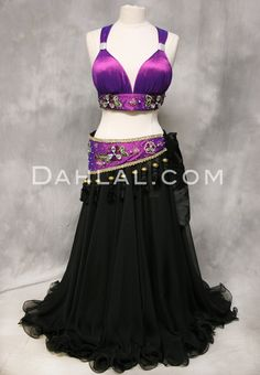 Dahlal Internationale Store - DESERT JEWEL, Iridescent Halter Bra and Hip Belt Set, $142.95 (http://www.dahlal.com/desert-jewel-iridescent-halter-bra-and-hip-belt-set/)