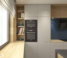 Aranżacje wnętrz - Kuchnia: Dom pod Krakowem - przestrzeń zupełna - Kuchnia, styl nowoczesny - WERDHOME. Przeglądaj, dodawaj i zapisuj najlepsze zdjęcia, pomysły i inspiracje designerskie. W bazie mamy już prawie milion fotografii! Kitchen Cabinets, Kitchen Appliances, Kitchens, French Door Refrigerator, Own Home, Home Interior Design, House Design, Dom, Home Decor