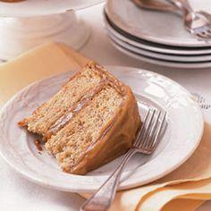 Banana-Caramel Cake