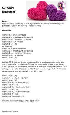 Terrific Free crochet amigurumi paso a paso Strategies Patrones de amigurumis gratis paso a paso Amigurumi Tutorial, Crochet Patterns Amigurumi, Crochet Dolls, Crochet Stitches, Crochet Diy, Love Crochet, Crochet Flowers, Patron Crochet, Crochet Projects