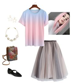 """""""Tiny dancer"""" by jarvis-kat on Polyvore featuring Chicwish, Anuschka and Aerosoles"""