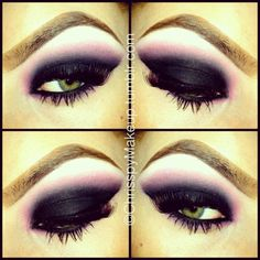 Dramatic smoky pink Purple Smokey Eye, Black Smokey, Smoky Eye, Kiss Makeup, Eye Makeup, Prom Makeup, Hair Makeup, Costume Makeup, Beauty Make Up