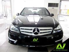 Mercedes Benz C180 CGI 1.6 AT Sport Saloon  Exterior : Obsidian Black Interior  : Cappuccino Leather