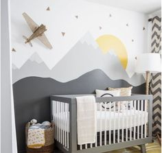 my top 20 kids' room pins of 2015 (the boo and the boy) Kinderzimmer ideen 🍉 Baby Bedroom, Baby Boy Rooms, Baby Room Decor, Baby Boy Nurseries, Nursery Decor, Bedroom Decor, Bedroom Ideas, Kids Rooms, Nursery Ideas