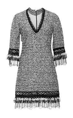 Tweed Shift Dress by JONATHAN SIMKHAI Now Available on Moda Operandi