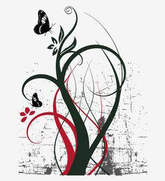 Vector Ornament Tree - Free Vector Site | Download Free Vector Art, Graphics