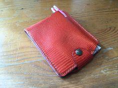 メモケース♪ #leather #手縫い #レザークラフト