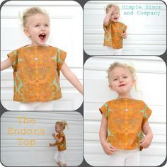 Thrifted Thursday---The Endora Top..a Tutorial | Simple Simon and Company