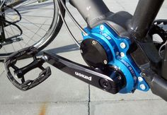 Pinion integrated gear box - compact design - seen on mountain bikes