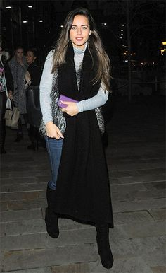 014447630cc Georgia May Foote on a night out in Salford