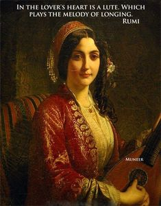 La femme a la mandoline Henri-Guillaume Schlesinger Academic Art, Classic Paintings, Historical Art, Classical Art, Calligraphy Art, Up Girl, Art Plastique, Oeuvre D'art, Lovers Art