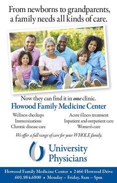 University of Mississippi Medical Center, University Physicians, Flowood Family Medicine Center - advertisement http://ummchealth.com