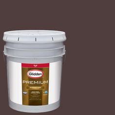 Glidden Premium 5-gal. #HDGR39D Ranch House Brown Flat Latex Exterior Paint