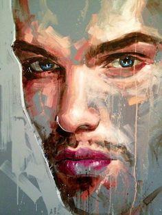 Billedresultat for jimmy law Abstract Portrait Painting, Painting & Drawing, Portrait Paintings, Acrylic Paintings, Art Paintings, Abstract Art, Jimmy Law, L'art Du Portrait, Art Alevel