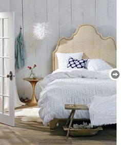 Raffia headboard  Google Image Result for http://www.styleathome.com/img/photos/biz/Style%2520at%2520Home/high-low-breezy-bed-HIGH.jpg