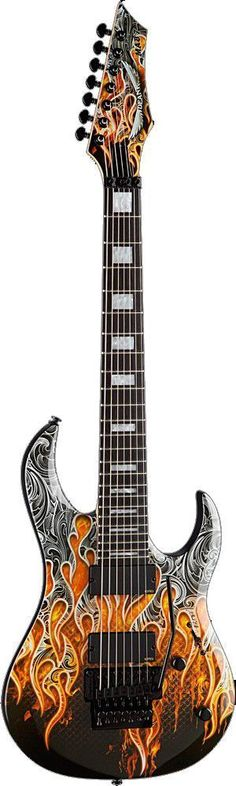 Dean Michael Batio MAB7 7 String Warrior Electric Guitar #Guitartypes #electricguitar