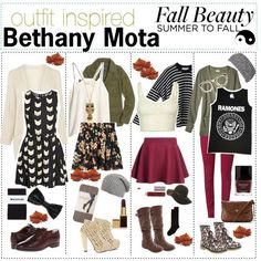Bethany Mota Outfits | Bethany Mota Fall Outfits 2013 Comment which one u like!!