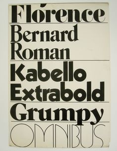 Promotion for TGC typefaces that stylistically mimic those of Herb Lubalin. Is this an early instance of ripping off fonts?