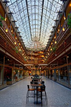 Cleveland Arcade.. This is a must see building!