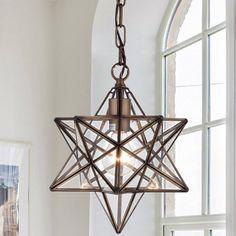 Shuler Star 1-Light Geometric Pendant