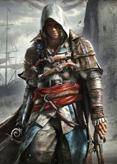 gamefreaksnz:  Assassin's Creed IV confirmed as PS4 and Xbox One launch titleAssassin's Creed IV: Black Flag is an Xbox One and PlayStation 4 launch title, Ubisoft has confirmed.
