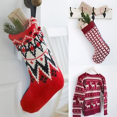 Make a Christmas stocking from an old sweater in minutes!