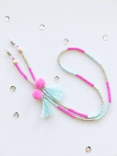 Bead Jewellery, Beaded Jewelry, Beaded Bracelets, Diy Leather Bracelet, Homemade Jewelry, Bijoux Diy, Diy Necklace, Cute Jewelry, Beads
