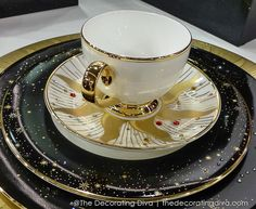 Day & Night Luxury China Dinnerware - Prouna's Jewelry Collection