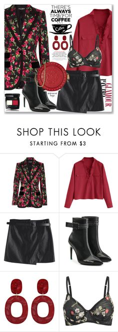 """""""Work Weatr"""" by jecakns ❤ liked on Polyvore featuring Dolce&Gabbana, Off-White, Kate Spade and Balmain"""