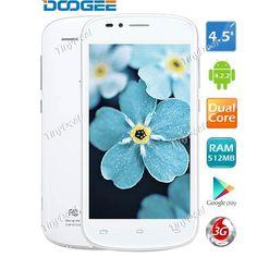 "(DOOGEE) DG210 4.5"" IPS MTK6572W Android 4.2.2 Dual Core 3G Phone   WiFi   5MP CAM   FM (512MB RAM   4GB ROM) http://www.tinydeal.com/doogee-dg210-45-ips-px24vqc-p-121690.html"