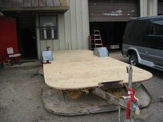 Vintage Airstream Restoration   Cleaning the frame, fixing it and painting it with Por15, put new ...