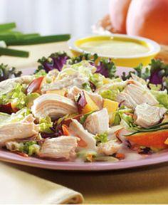 Chicken and Peach Coleslaw http://wm13.walmart.com/Food-Entertaining/Recipes/21339
