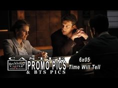 "Castle 6x05 Promotional Photos ""Time Will Tell""  (HD)  High Resolution Pictures"
