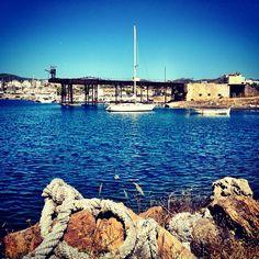 Λιμάνι Λαυρίου (Lavrio Port) στην πόλη Λαύριο, Αττική