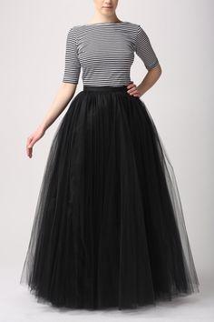 Maxi tutu tulle skirt maxi petticoat champagne tutu by Fanfaronada, €170.00...south beach gala