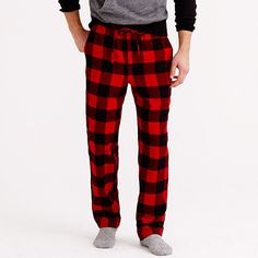 a7bfb947f48c J.Crew - Flannel pajama pant in buffalo check Kimi these come in all kinds