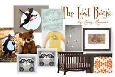 In the quest of searching for the perfect additions to a Peter Pan themed nursery, I decided to give some love to the lost boys of Neverland.  Dressed as woodland creatures in the Disney version, it...